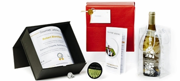 New vintage, new welcome pack for the Gourmet Odyssey Wine Experience