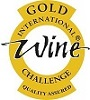 Allegria International Wine Challenge 2018 gold medal