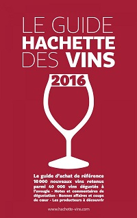 Guide Hachette des Vins de France 2016 wine guide