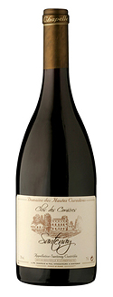 Red organic wine gift. Clos des Cornières, Santenay AOC red wine, the organic wine chosen by Gourmet Odyssey