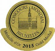 Chateau Coutet gold medal at Concours Mondial Bruxelles