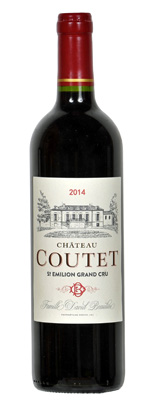 Persoanlised Wine Gift. Château Coutet AOC Saint-Emilion Grand Cru
