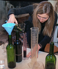 Wine tasting, oenology and practical wine making experience as you learn what it's like to be an oenologist